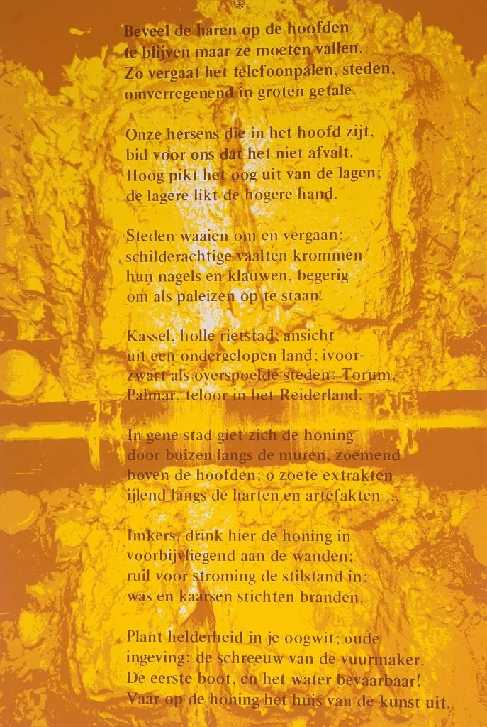Joseph Beuys, Honigpumpe, Farblithographie, signiert, nummeriert 65/100, ca. 70x50 cm  Mindestgebot: 300 EUR Henry's