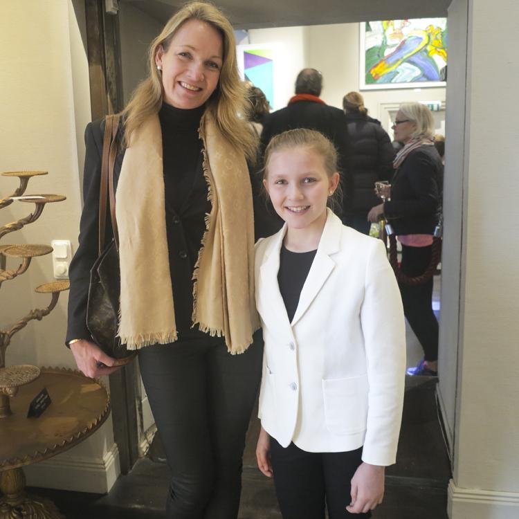 Charlotte Bergström med dottern Isabelle