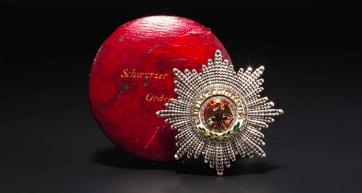 Breast Star to the Order of the Black Eagle of Prince Albert of Saxe-Coburg and Gotha Starting bid: 10.000 EUR