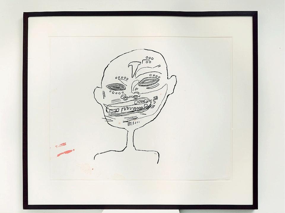Basquiat, sans titre, 1982.