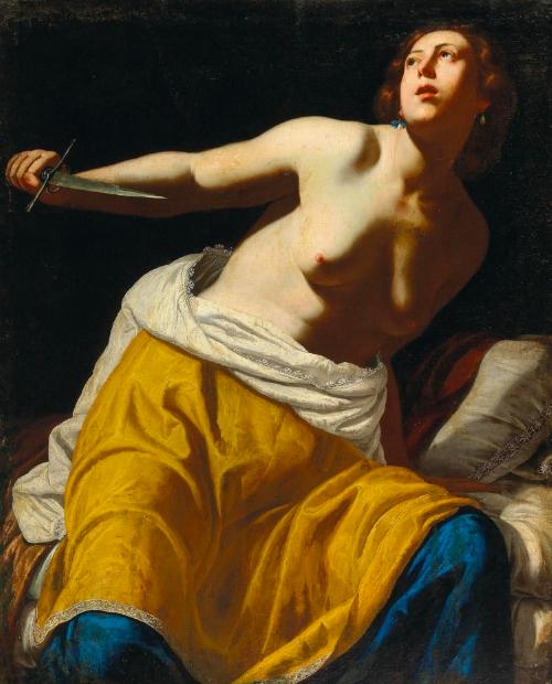 Artemisia Gentileschi, «Lucrèce », v. 1630-1645, image ©Dorotheum