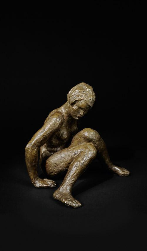GEORG KOLBE (1877-1947) - Sitzende, Bronze, goldbraun patiniert, ca. 26 x 25 x 21 cm, monogrammiert, 1928 Schätzpreis: 50.000 EUR