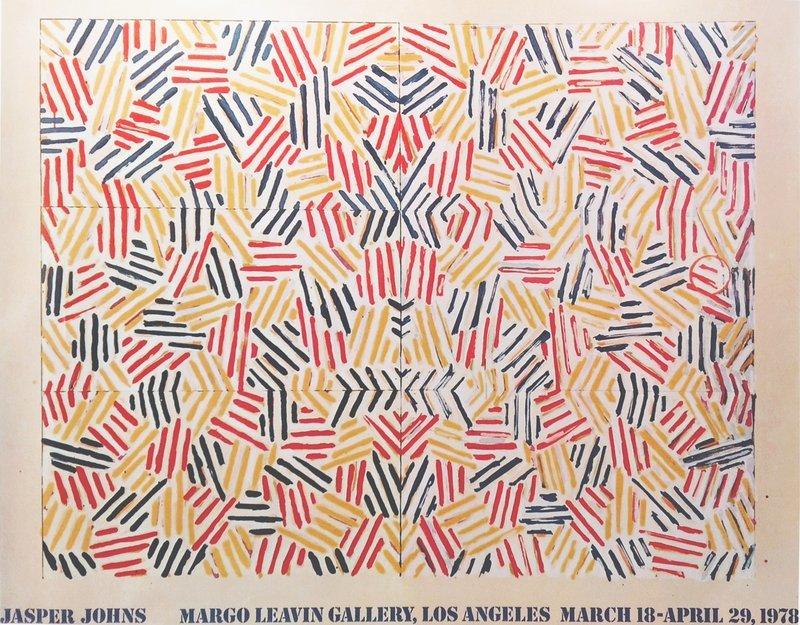 JASPER JOHNS, Jasper Johns (Corpse and Mirror, 1978), Margo Leavin Gallery, Los Angeles, 1978.
