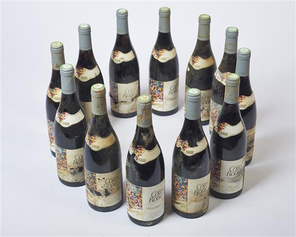 """12 bouteilles CÔTE-RÔTIE """"La Turque"""", Guigal 1988 Tajan"""