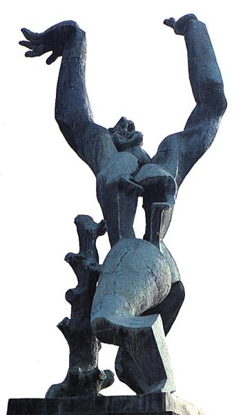 Ossip Zadkine, La ville detruite, 1951 Bronze, 650 cm © Centre de recherche Zadkine