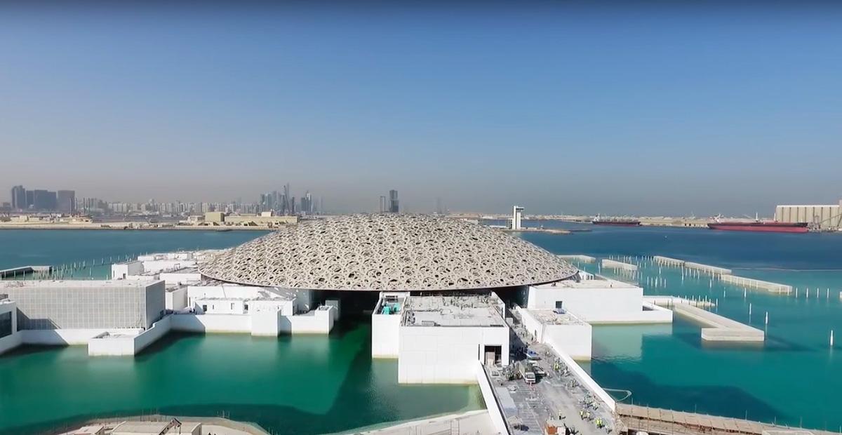 L'impressionnante architecture du Louvre Abou Dhabi signée Jean Nouvel