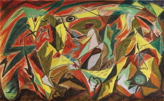 André Masson, 'Masscare', 1932. Photo: MutualArt