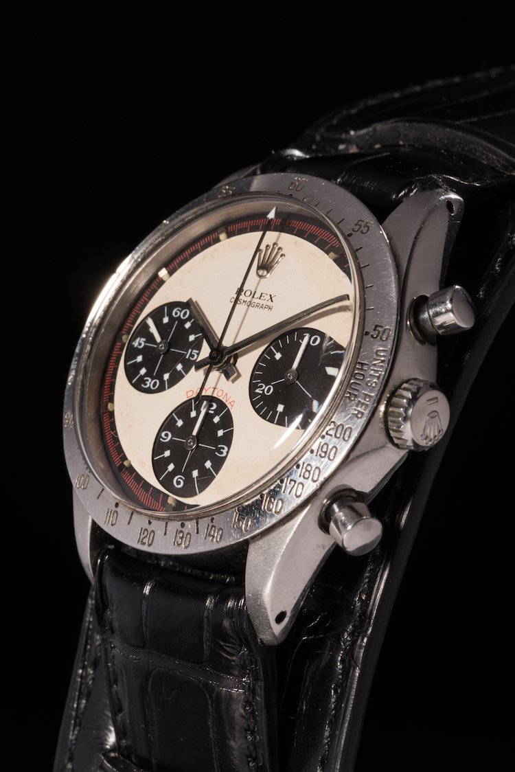 The one and only - Paul Newman's Rolex Daytona. Photo: Phillips
