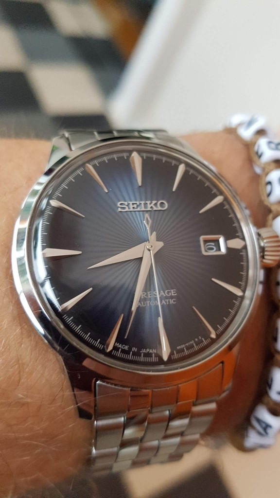 Todays Wristshot: Seiko Cocktail Presage, SRBP41(photo:C. Franke)