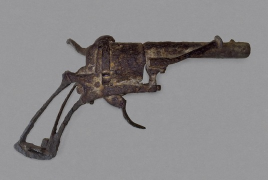 Möjligen vapnet som van Gogh sköt sig med.