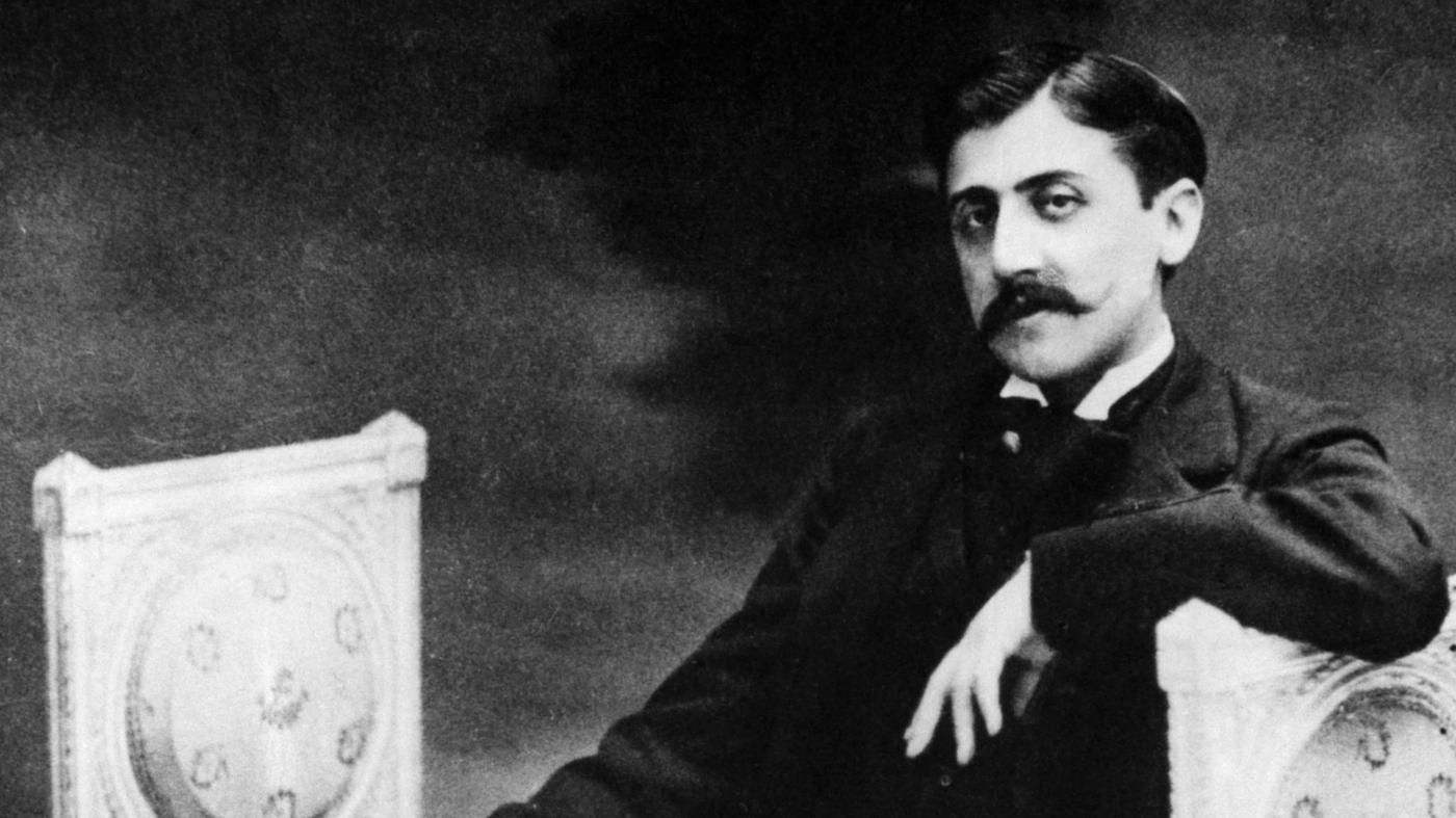 Marcel Proust, image via NPR