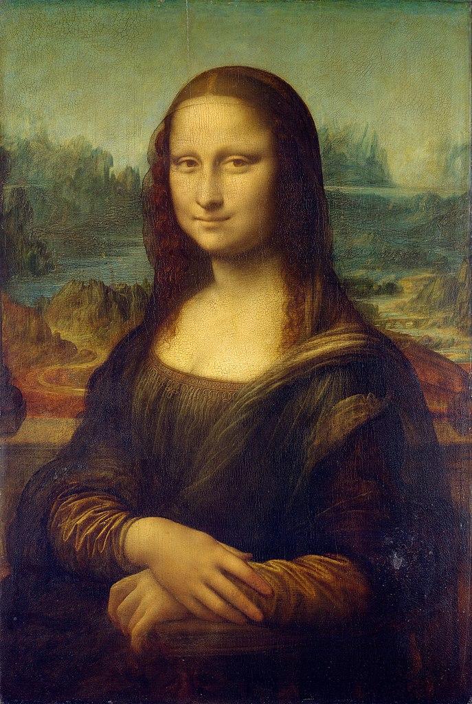 Mona Lisa. Image: Wikipedia
