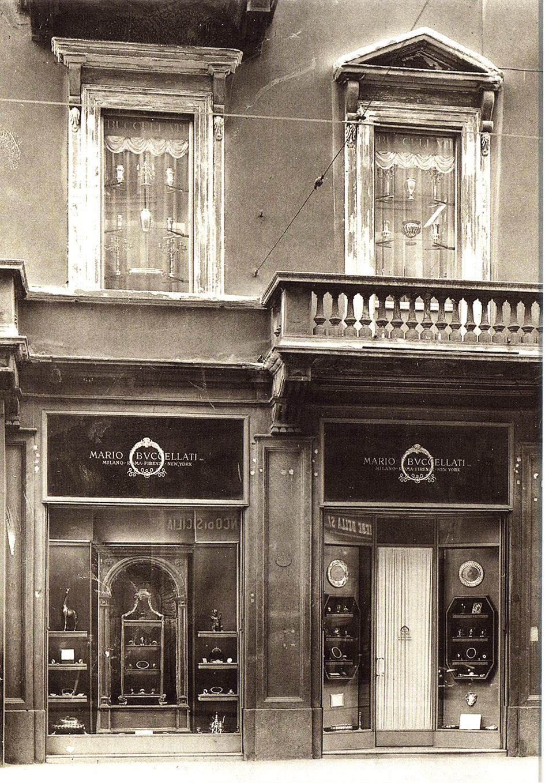Il negozio a Milano. Foto: Buccellati