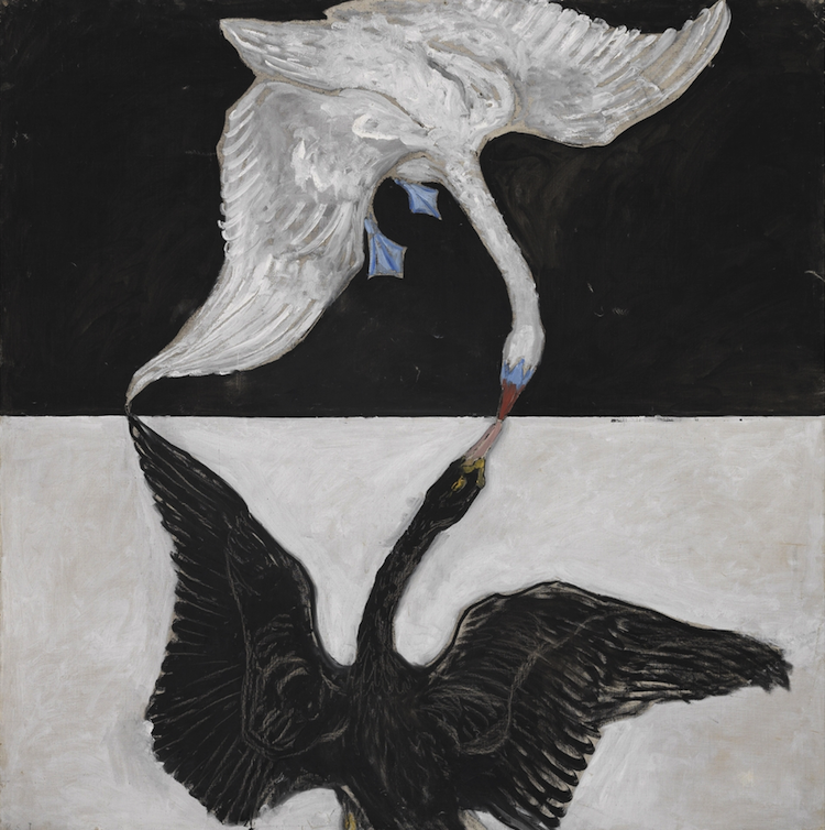 HILMA AF KLINT. Svanen, nr 1, 1915