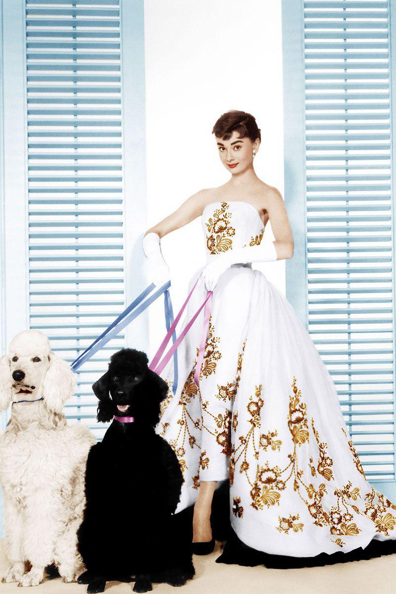 Audrey Hepburn wearing a Givenchy design in Sabrina, 1954. Image: Elle