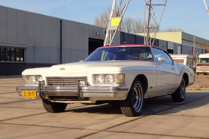 "Buick - Riviera V8 455CI ""Boattail"" - 1973 Schätzpreis: 15.000-19.500 EUR"