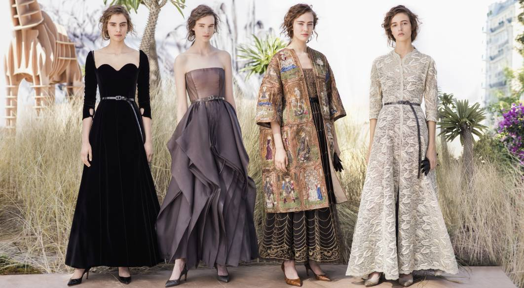 Dior Haute Couture by Maria Chiuri for 2017-2018. Photo: Ethan James Green for LVMH