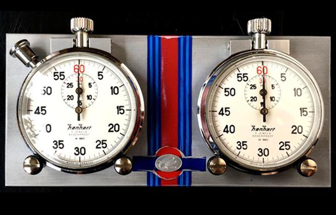 Set de chronomètres automobiles ClassiKnau