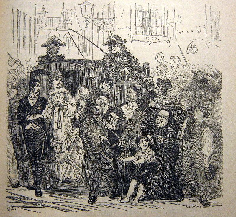 Illustration av Carl Larsson ur Sagor och Berättelser av Hans Christian Andersen, ur sagan Under pilträdet (1875). Bild Wikimedia Commons