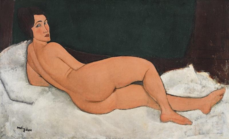 Rekordmålning av Amadeo Modigliani innebar nytt rekord för Sotheby´s
