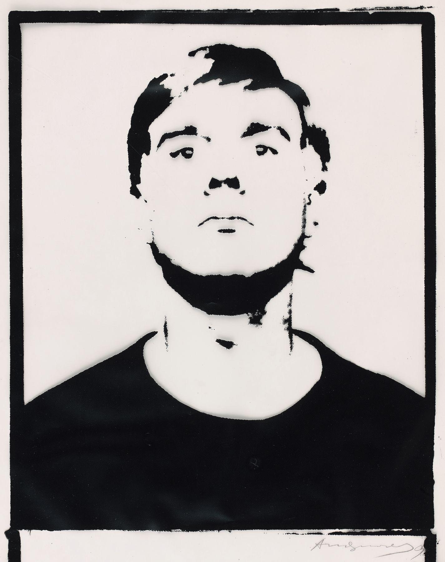 Andy Warhol Self-Portrait, 1964 Encre sérigraphique sur feuille de papier calque