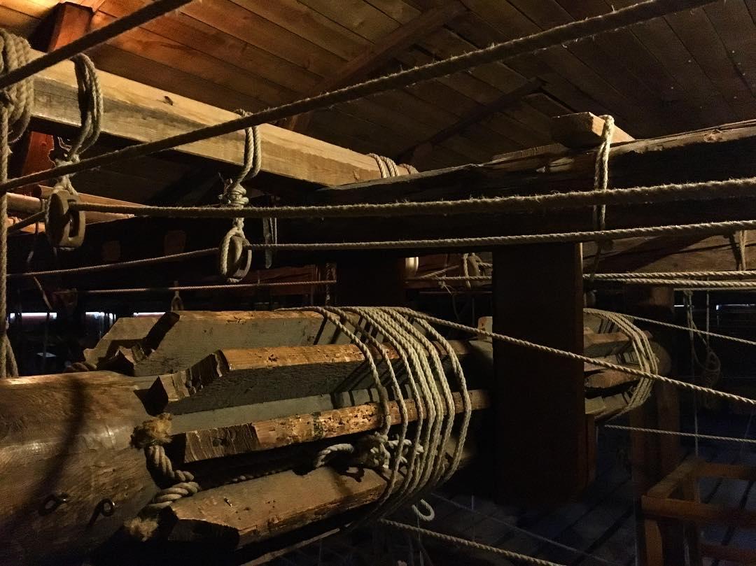 Scenmaskineriet på Drottningholms Slottsteater. Bild: Drottningholms Slottsteater.