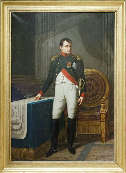 Robert Lefèvre, Napoléon in der Uniform eines Oberst der berittenen Gardejäger, 1809