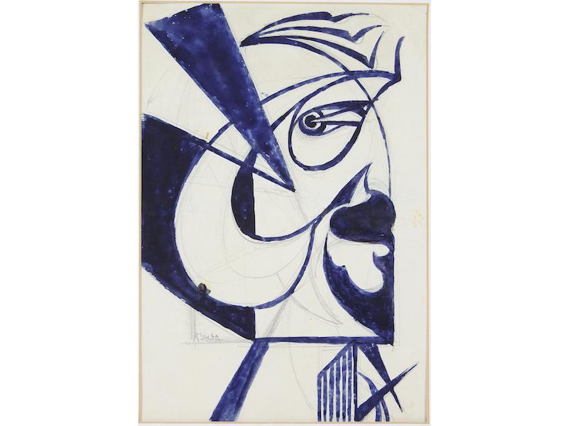Giacomo Balla, (1871-1958), « Autostatodanimo », 1917, estimé entre 20-30 000 euros