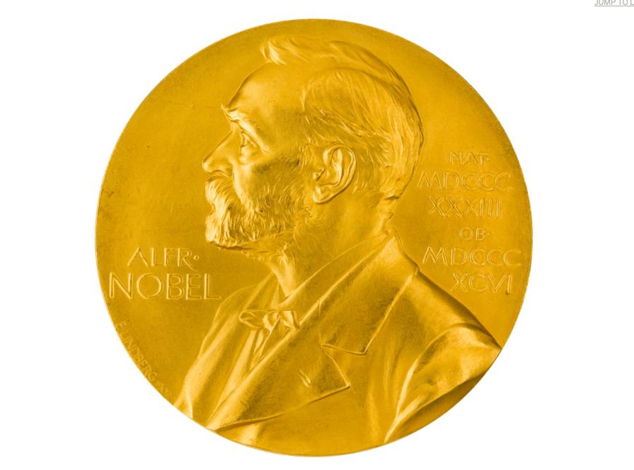Nobelmedalj tilldelad hans Krebs 1952. Utrop, 2,1-2,9 miljoner kronor. Sotheby's.