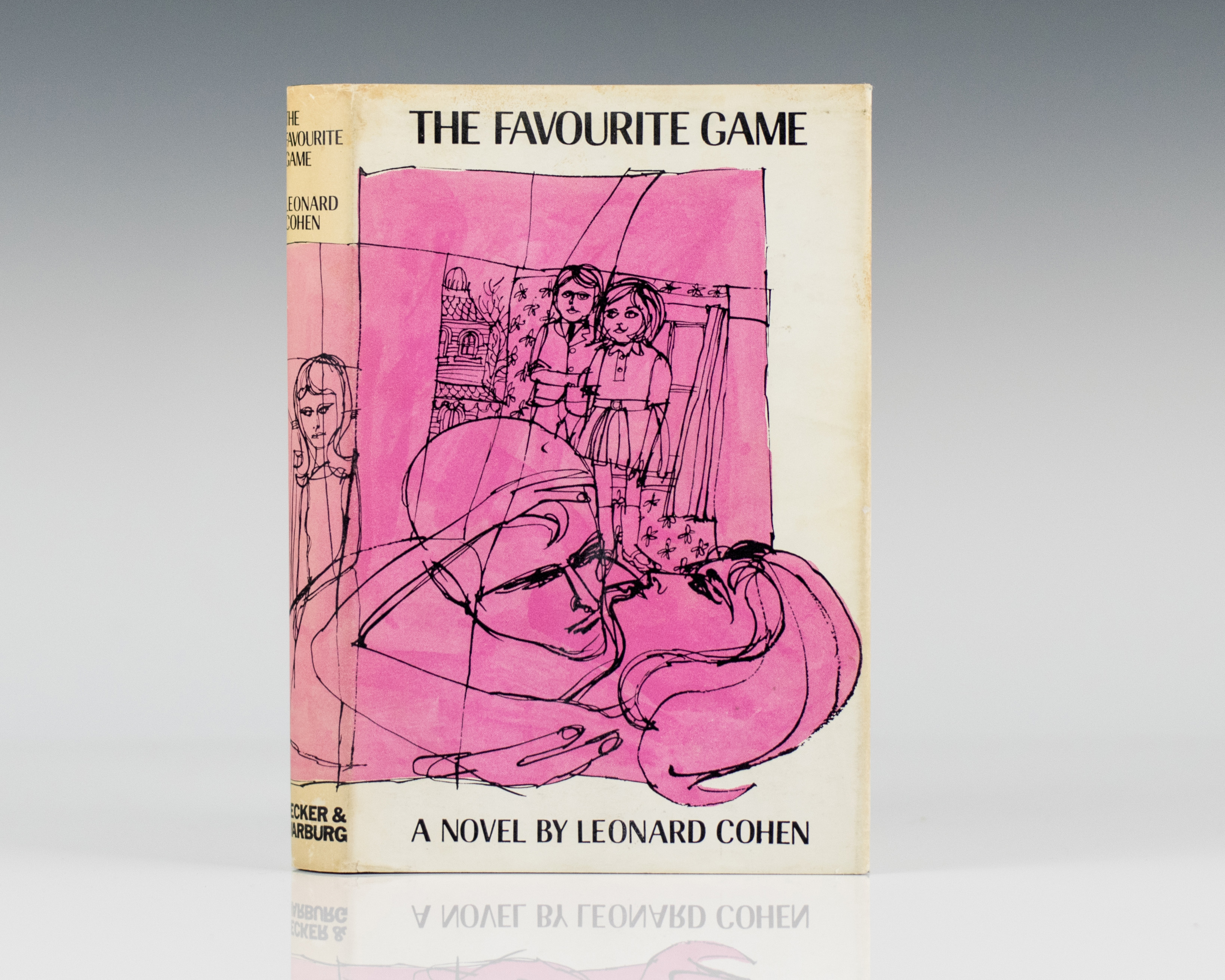 The Favorite Game, Leonard Cohen, première édition signée Image via AbeBooks.com