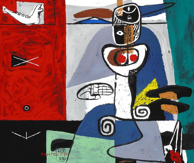 """LE CORBUSIER. """"Pentecôte"""" (1959)"""