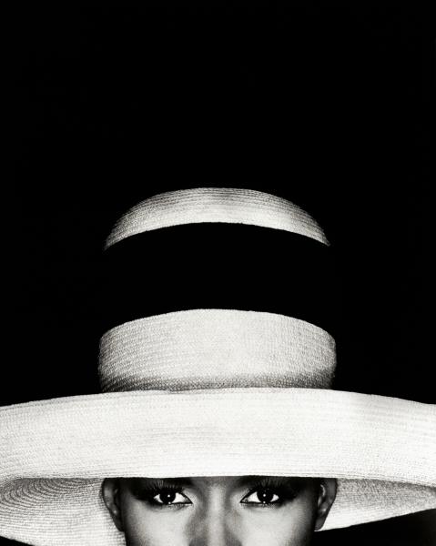 Greg Gorman Grace Jones in hat, 25, 1991 Lumiere Brothers Gallery