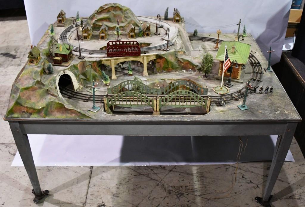Lionel trains store display