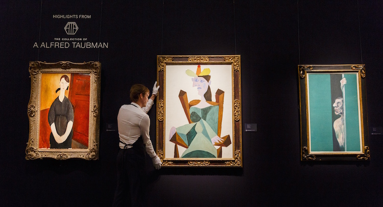 Masterpieces From The Taubman Collection At Sotheby's