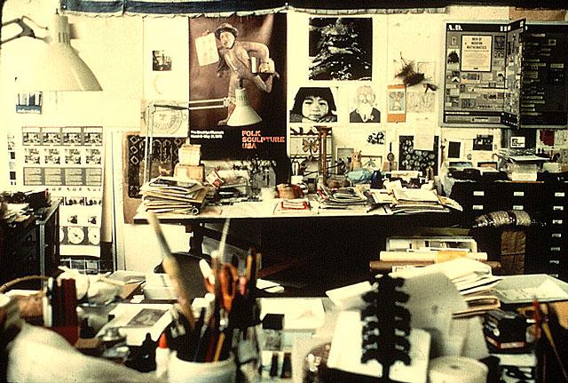 Charles och Ray Eames arbetsplats på 901 Washington Boulevard i Venice, Kalifornien.