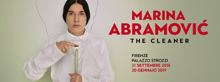 "Marina Abramović, ""The Cleaner"" | Foto via Palazzo Strozzi"