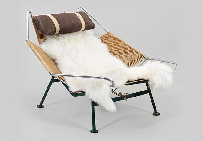 """HANS J. WEGNER (1914-2007) - """"Flag Halyard Chair"""" (Modell GE 225), 1950"""