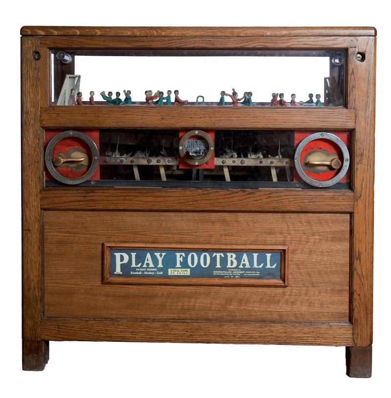 Objekt 632: Fotbollsspel, Chester-pollard, 1910. Startpris: 56 000 kronor.