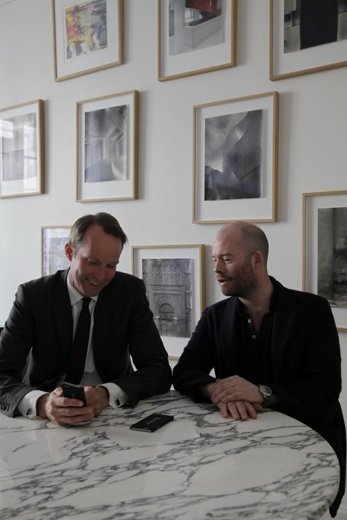 Pontus Silfverstolpe and Christopher Barnekow, co-founders of Barnebys