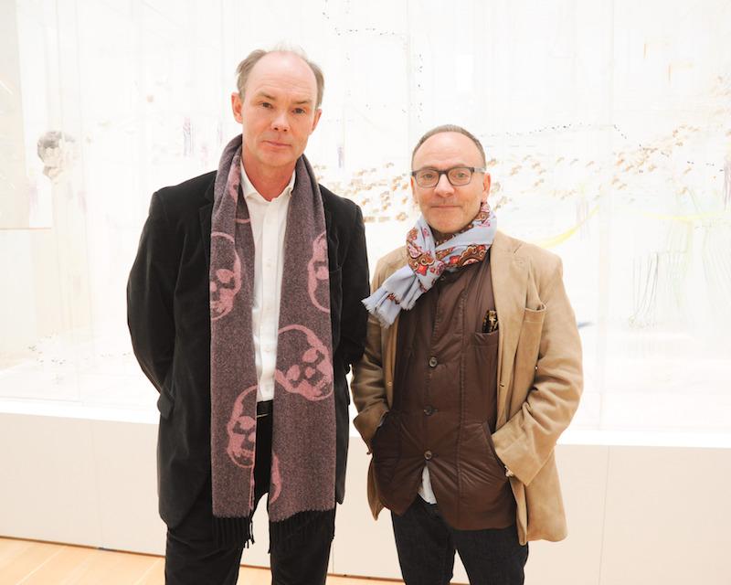 Stellan Holm och Edward Nahem. Foto: The Brandt Foundation