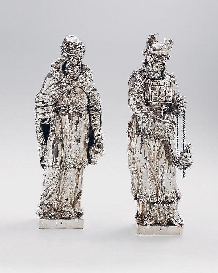 Ett par holländska silverskulpturer. Utrop: 423 000 SEK Lempertz