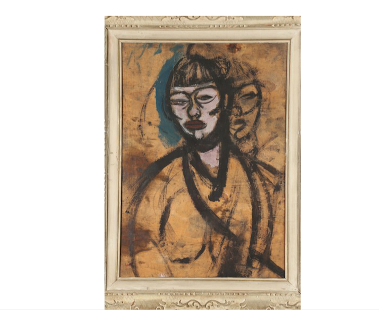 Gino Rossi (1884-1947) olja på duk. Lot 15 Utrop: 372.000 SEK