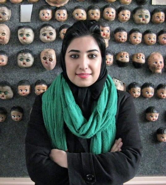 ATENA FARGHADANI. Imagen vía Global Voices