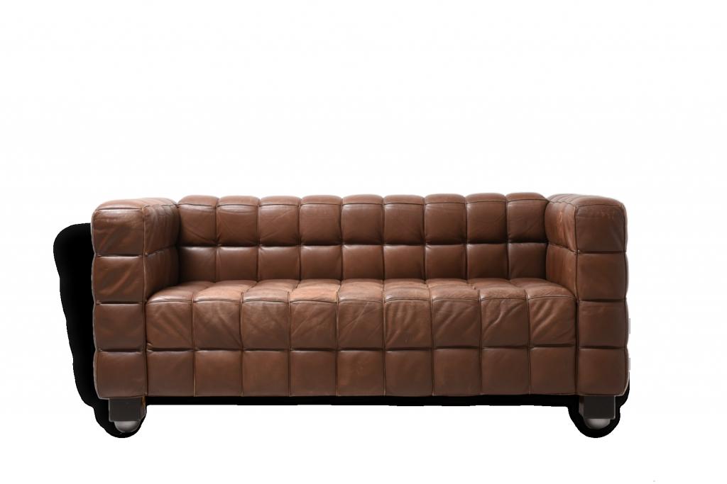 "JOSEF HOFFMANN Sofa ""Kubus"" Selency"