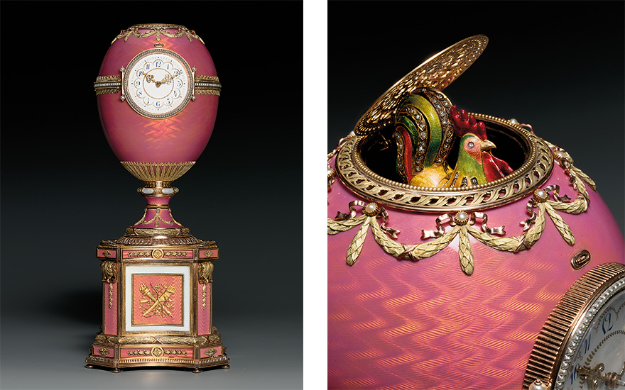The Rothschild Fabergé egg. Image: Christie's