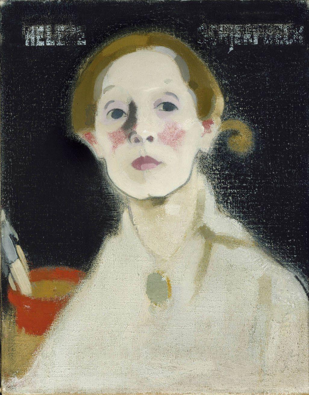 Självporträtt från 1915