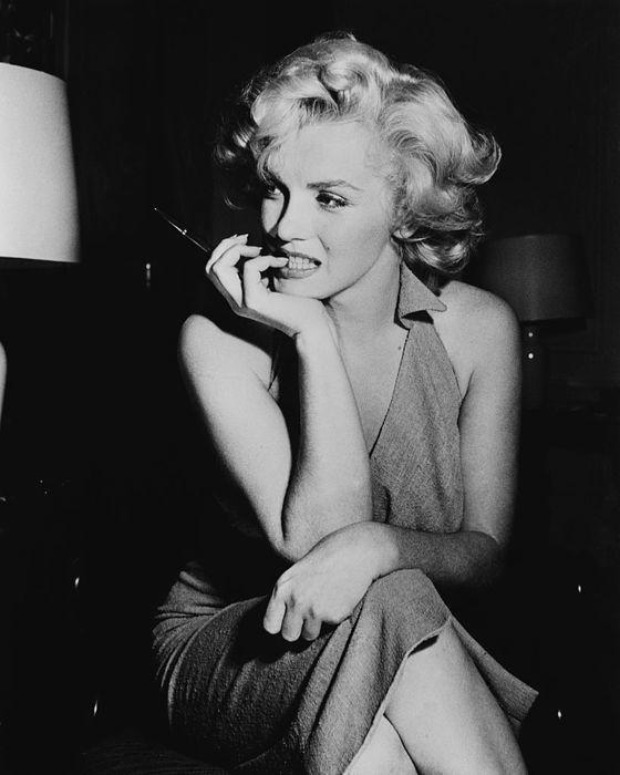 Marilyn Monroe en 1952. Actuellement en vente chez Catawiki