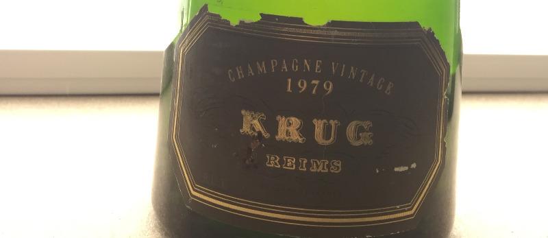 Krug Champagne 1979 拍賣結束日期2月13日 最低估價: 750 euros