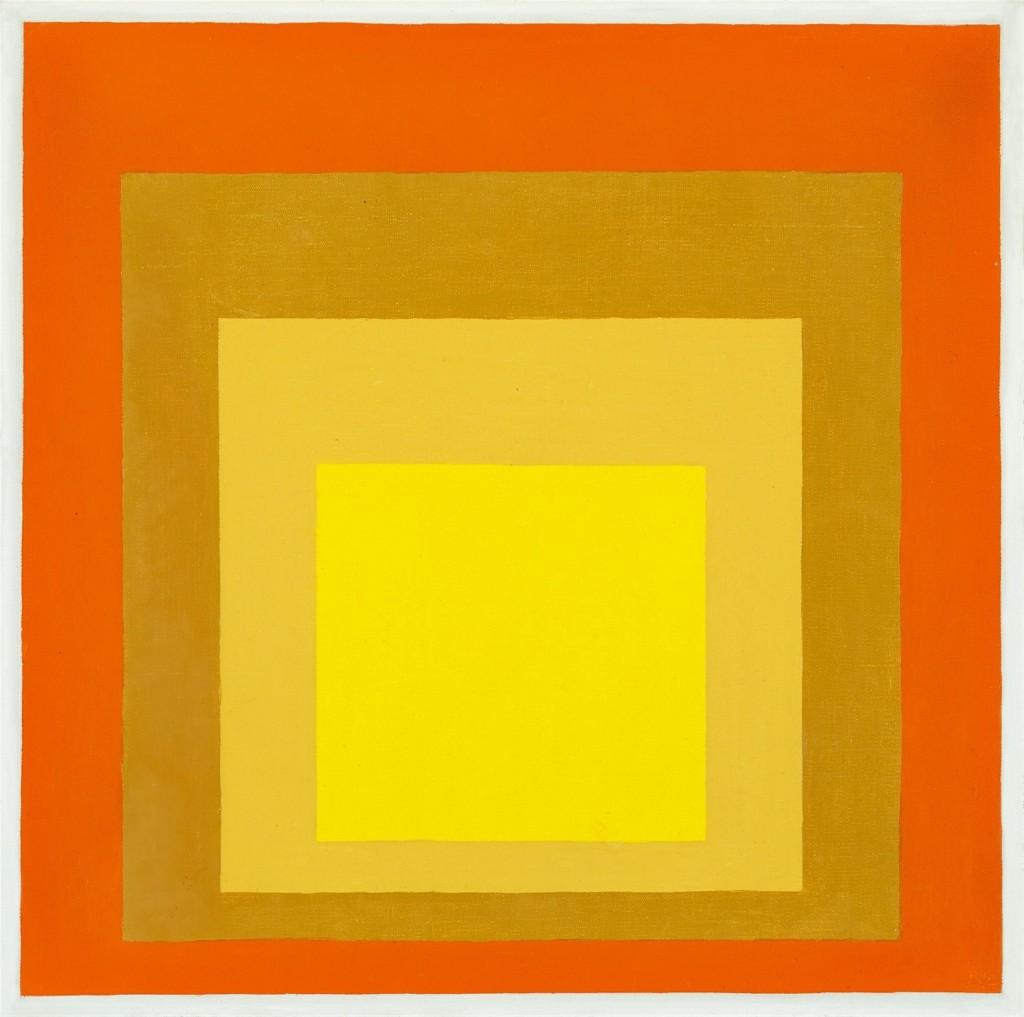 JOSEF ALBERS (Bottrop 1888 - 1976 New Haven) - Homage to the Square, Öl/Aluminium, monogrammiert und datiert, 1961