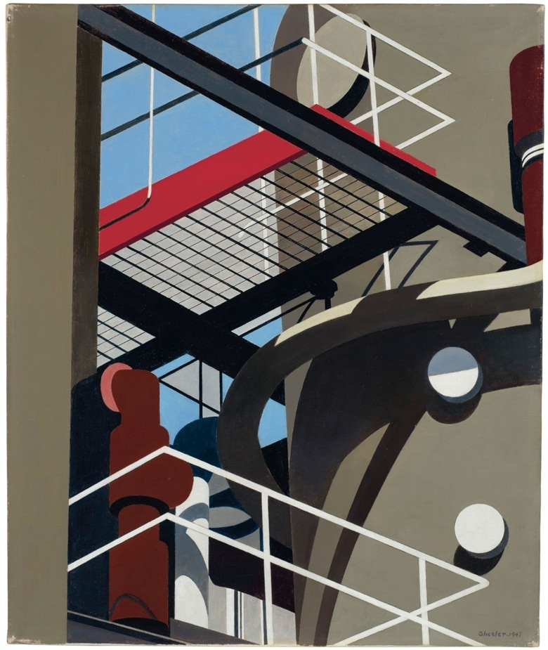 Charles Sheeler, 'Cat-walk', 1947. Photo: Christie's